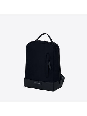 Kapten and Son Lillestrom All Black Backpack