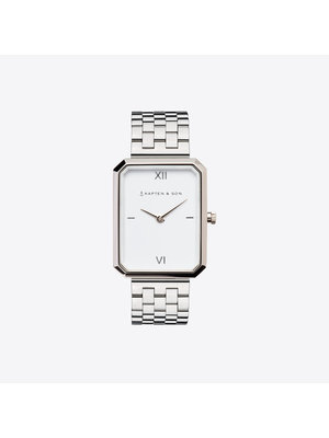 Kapten and Son Grace Silver Steel Watch