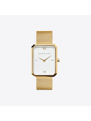 Kapten and Son Grace Gold Mesh Watch