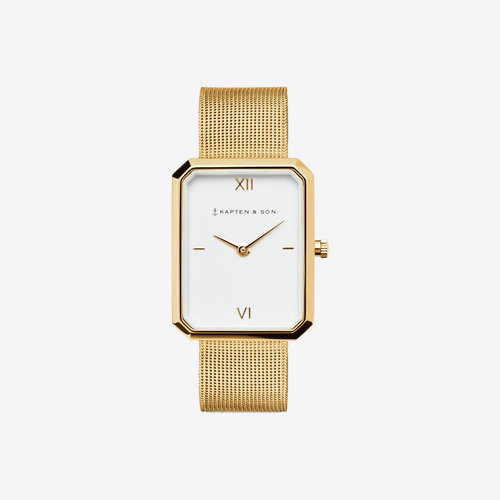 Kapten and Son Grace Gold Mesh