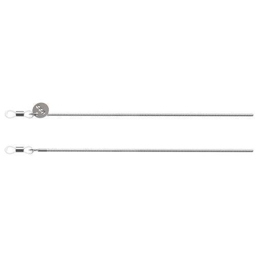 Komono Boa Silver Sunglasses cord