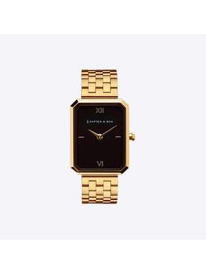 Kapten and Son Grace Gold Black Steel Watch