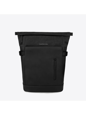 Kapten and Son Aarhus All Black Sac a dos