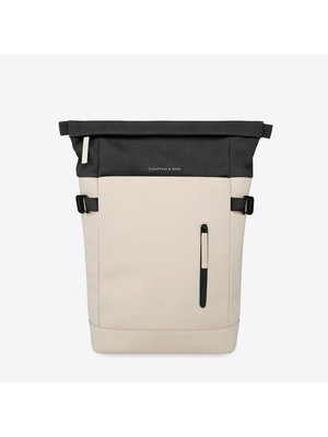 Kapten and Son Aarhus Backpack Cream Black