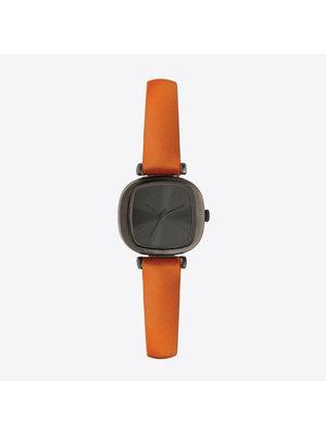 Komono Moneypenny Cognac Horloge