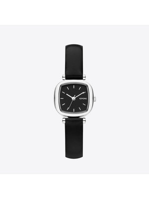 Komono Moneypenny Black Silver Horloge
