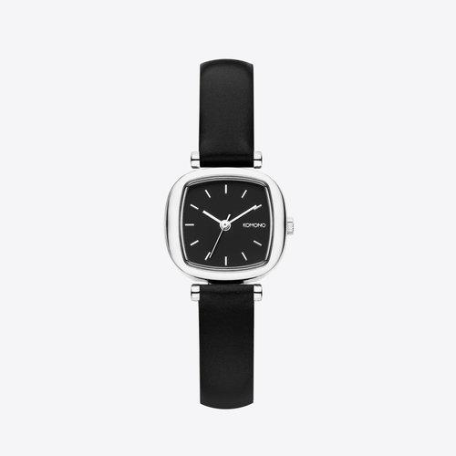 Komono Moneypenny Black Silver