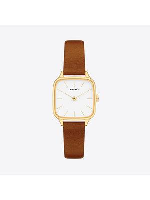 Komono Kate Gold Tan Horloge