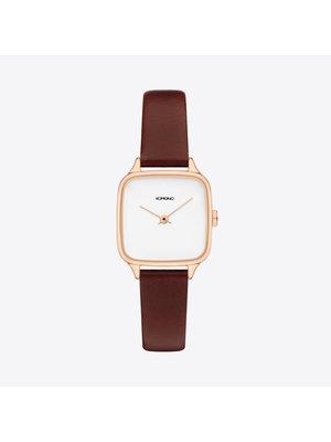 Komono Kate Rose Gold Auburn Horloge