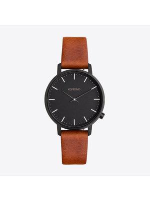 Komono Harlow Cognac Horloge