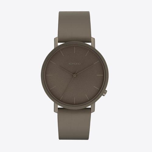 Komono Lewis Monochrome Ash Watch