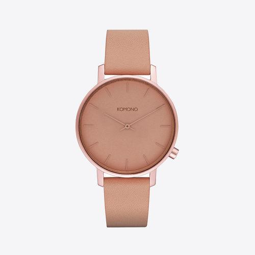 Komono Harlow Monochrome Blush Horloge