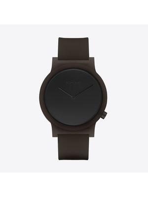 Komono Mono Orbit Black Horloge