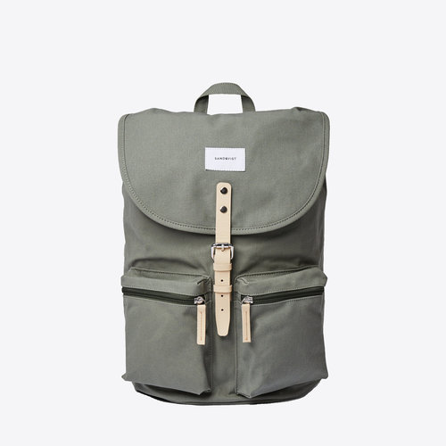 Sandqvist Roald Backpack Dusty Green
