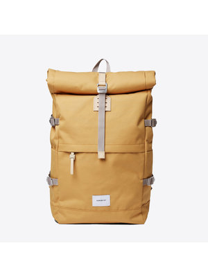 Sandqvist Bernt Yellow Backpack