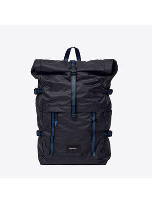 Sandqvist Bernt Lightweight Black Backpack