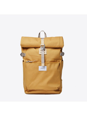 Sandqvist Ilon Yellow Backpack