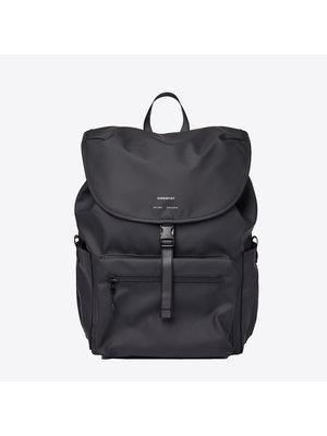 Sandqvist Abel Black Backpack