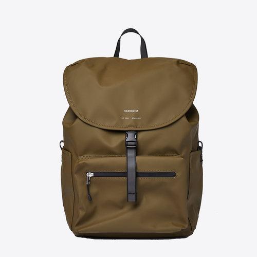 Sandqvist Abel Olive Backpack