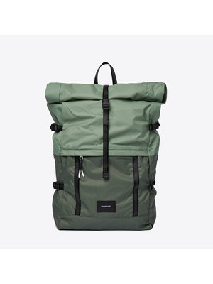 Sandqvist Bernt Lightweight Green Backpack