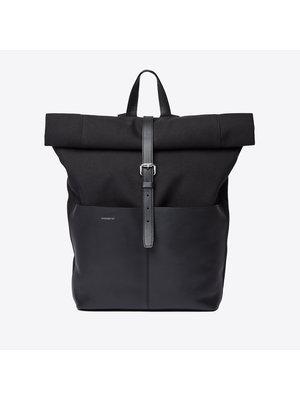 Sandqvist Antonia Twill Black Backpack