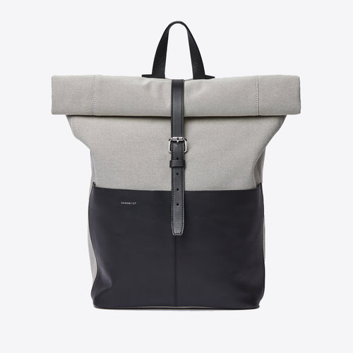 Sandqvist Antonia Twill Backpack Light Grey