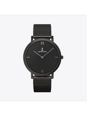 Kapten and Son Pure Nox Mesh Watch