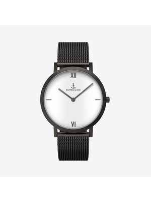 Kapten and Son Pure Lux Mesh Horloge