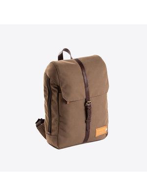 Property of Charlie 12h Olive Brown Backpack