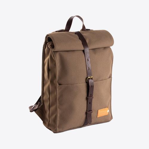 Property of Alex 24h Olive Brown Backpack