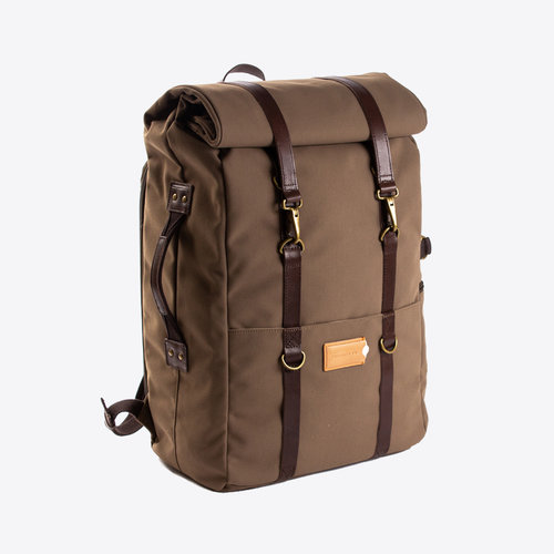 Property of Karl 48h Backpack Olive/Brown