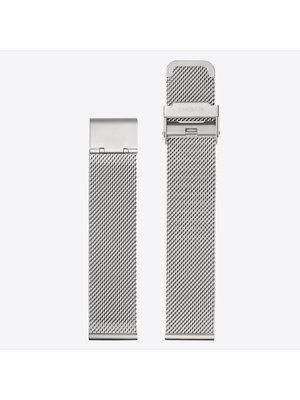 Komono Komono Mesh Horlogeband 20 Silver Mesh