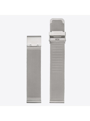 Komono Mesh Watch Strap 20 Silver Mesh