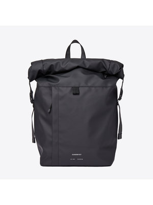 Sandqvist Konrad Black Backpack