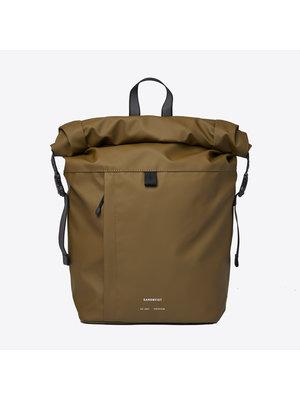 Sandqvist Konrad Olive Backpack