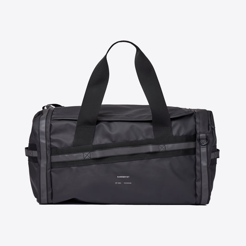 Sandqvist Leopold Duffel Backpack Black