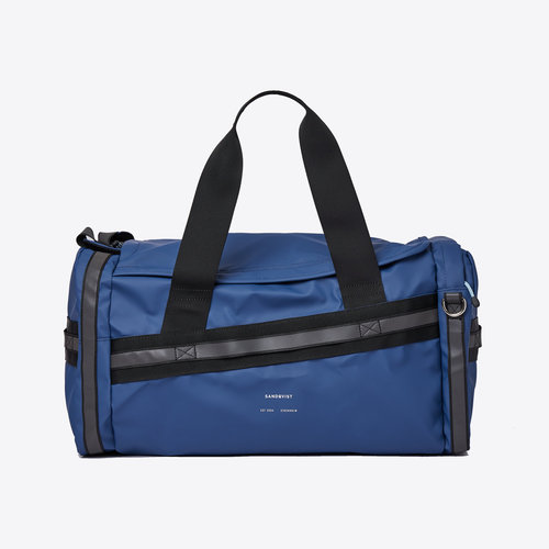 Sandqvist Leopold Duffel Backpack Evening Blue