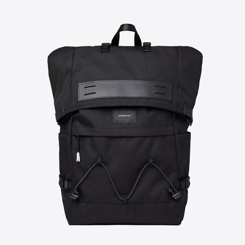 Sandqvist Christoffer Black Backpack