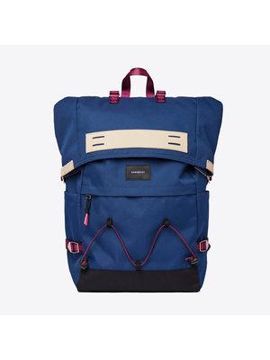 Sandqvist Christoffer Backpack Evening Blue