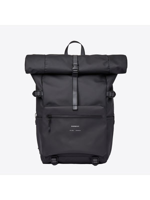 Sandqvist Ruben 2.0 Black Backpack