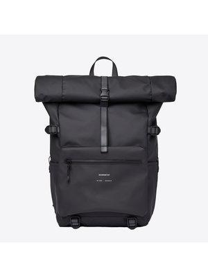 Sandqvist Ruben Black Backpack