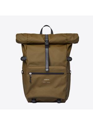 Sandqvist Ruben 2.0 Dark Olive Backpack
