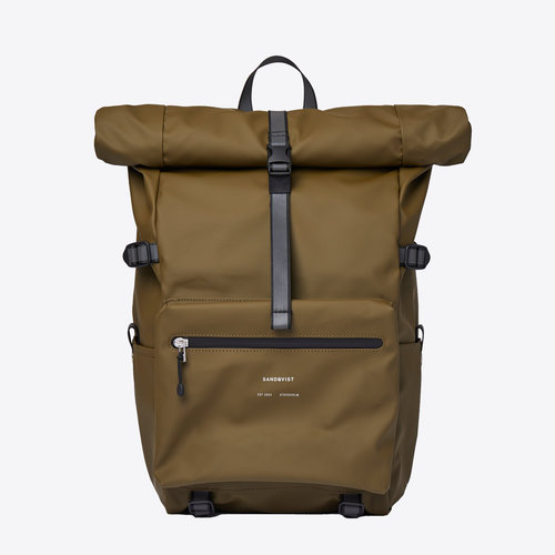 Sandqvist Ruben 2.0 Backpack Dark Olive