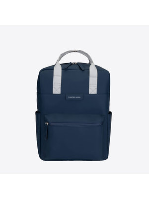 Kapten and Son Bergen Navy Backpack