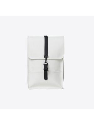 Rains Backpack Mini Off White Rugzak