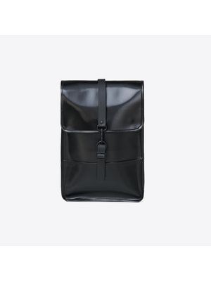 Rains Backpack Mini Shiny Black