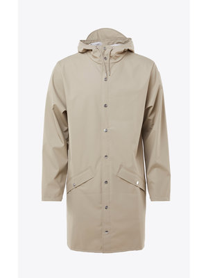 Rains Long Jacket Beige Regenjas
