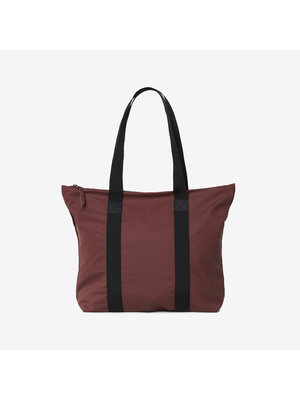 Rains Tote Bag Rush Maroon