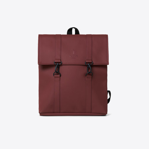 Rains MSN Bag Mini Maroon Backpack