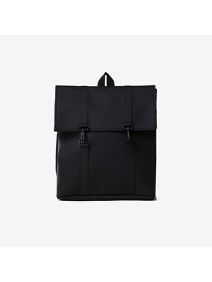 Rains MSN Bag Mini Black Rugzak